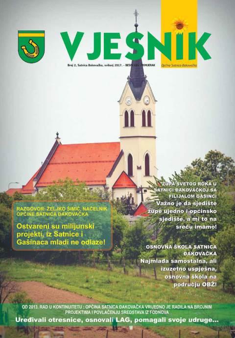 Vjesnik Općine Satnica Đakovačka, svibanj 2017