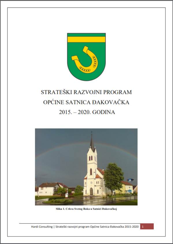 Strateški razvojni program Općine Satnica Đakovačka